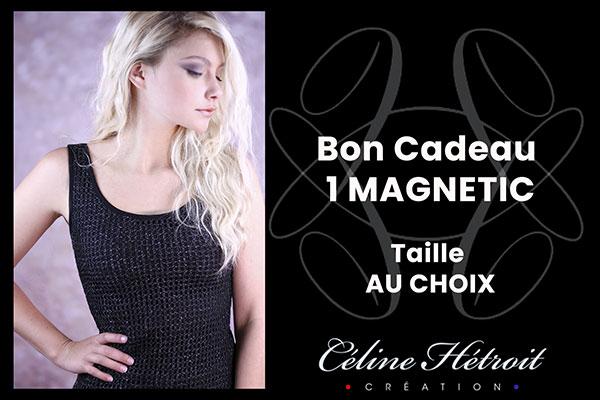 Carte Cadeau Céline Hétroit Création pour Top débardeur de soirée noir